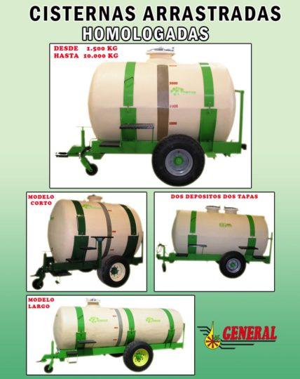 Cisternas tractores homologadas